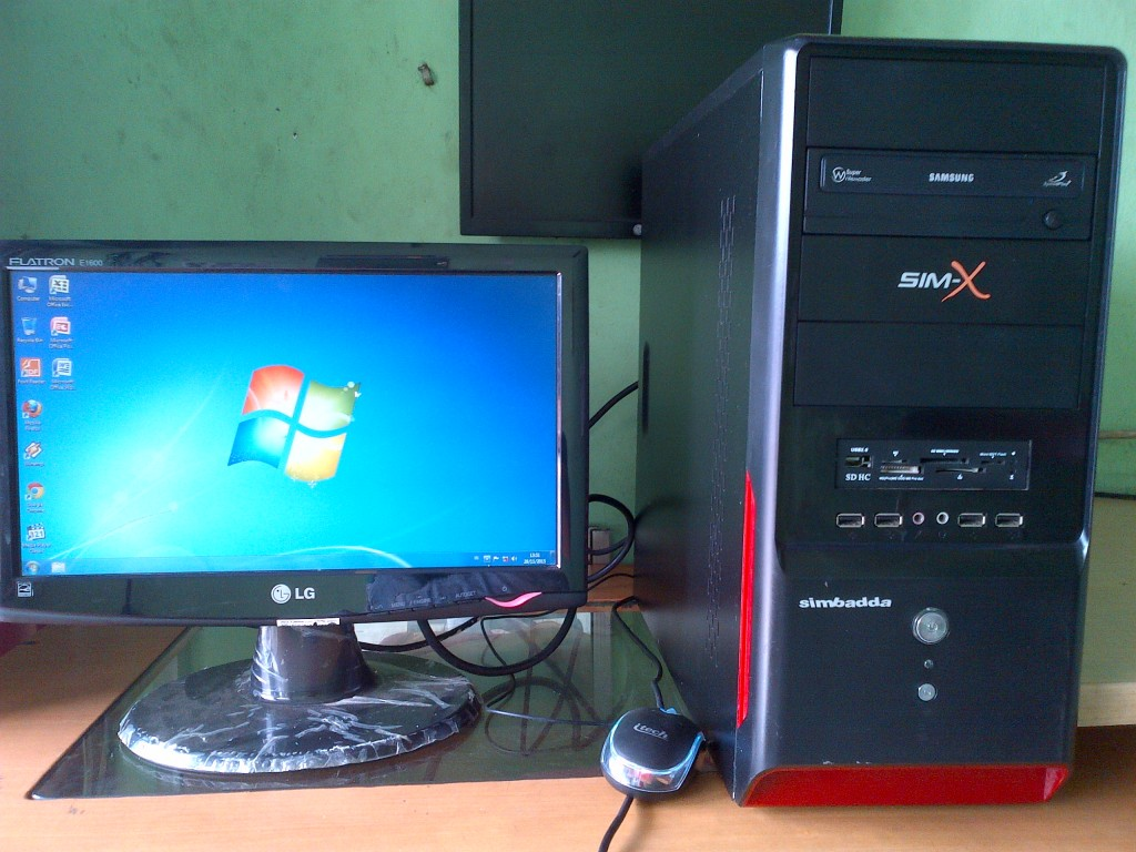 computer second murah dualcore